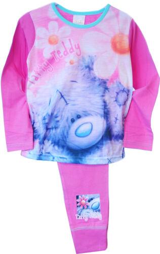 Kinder Pyjama SET Hose /& Shirt Me to You Schlafanzug Bär 110 116 122 128 134-152
