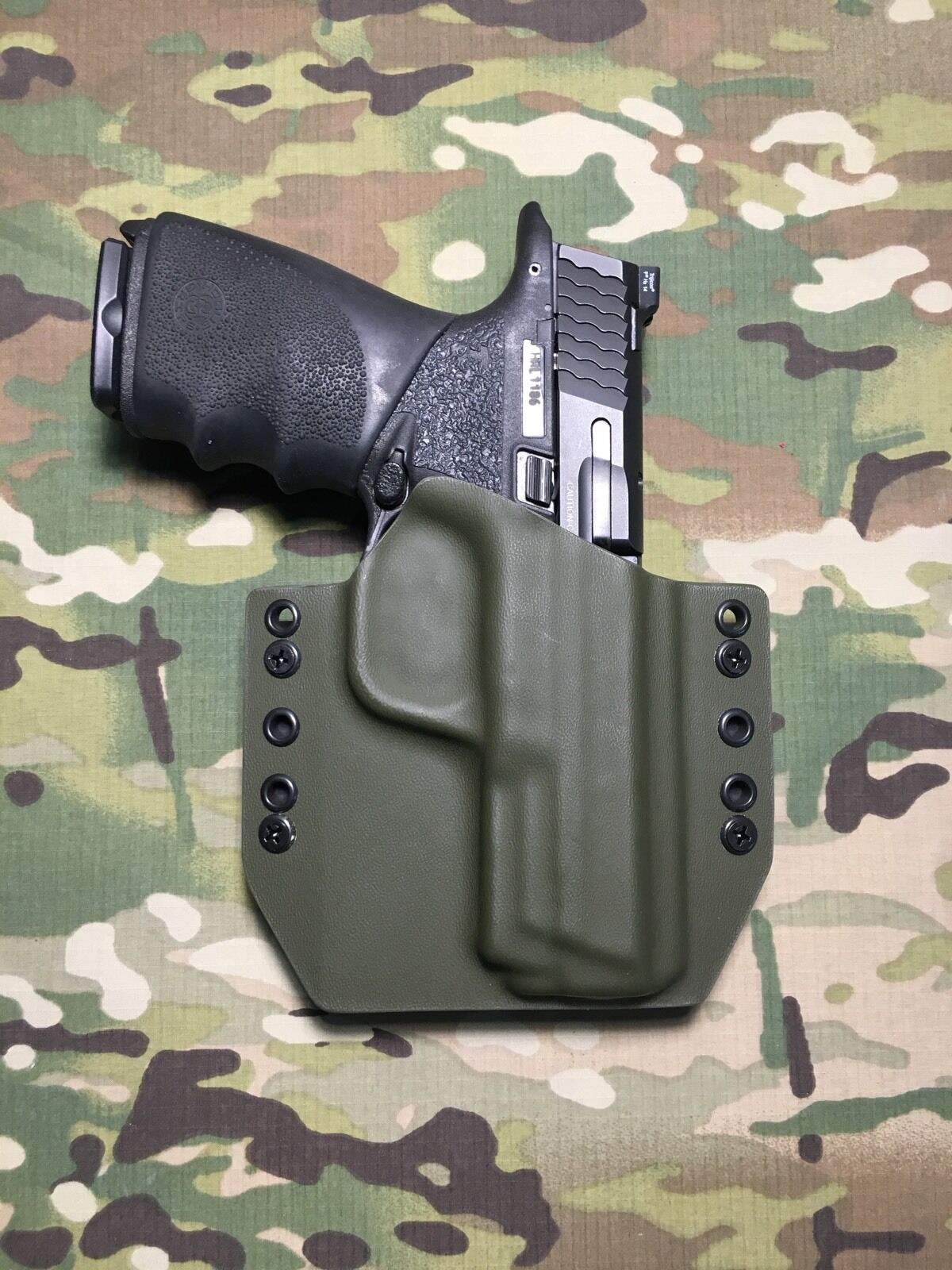 OD Green Kydex Holster M&P 2.0 Full Size 9 40 357 Sig