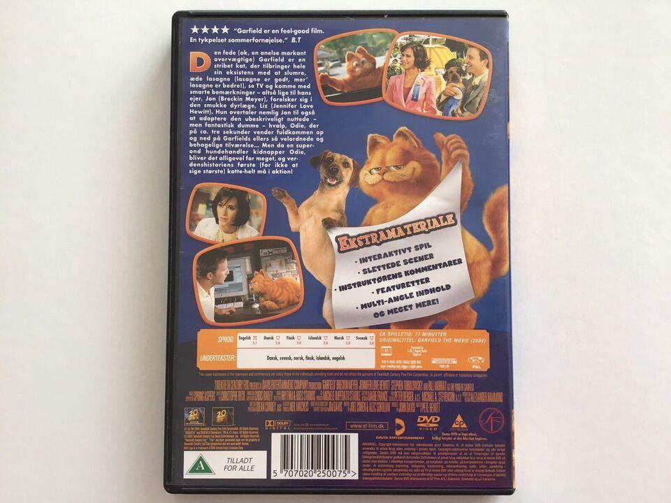 Garfield the movie, DVD, animation