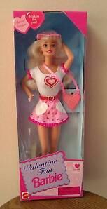 Mattel Barbie Valentine Fun Special Edition 1996