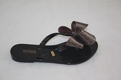 NEW KIDS 31693 MELISSA HARMONIC INF 01003 BLACK THONG GIRLS SANDAL