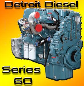 detroit diesel series 60 complete repair service workshop manual rh ebay com detroit diesel series 60 repair manual download Detroit Diesel Series 60 Schematic