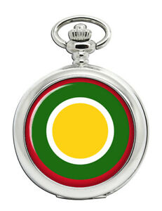 Koenigliche-Brunei-Air-Force-Scheibe-Taschenuhr