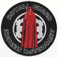 "STAR WARS ROYAL GUARD AUTOGRAPH SERVICE PATCH 4"""