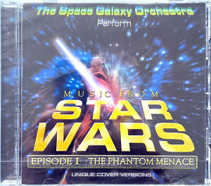 The Space Galaxy Orchestra CD Music From Star Wars Episode I The Phantom Menace