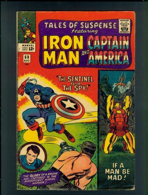 Tales of Suspense #68 (1965), Very Good (4.0) ~ Hartley~ Marvel