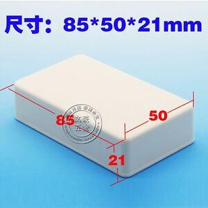 2x-Plastic-Project-Box-Enclosure-Case-Electronic-DIY-Instrument-Case-85-50-21MM