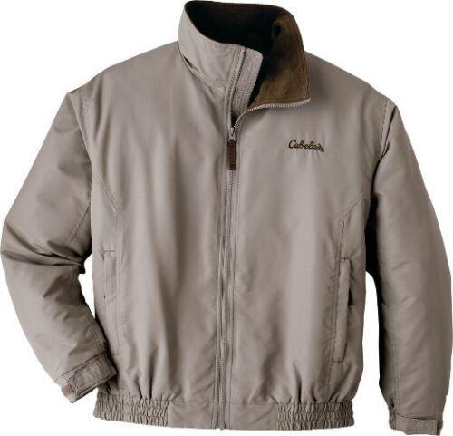 Cabela/'s Three Seasons Eisenhower Style Jacket Tan Size Large Tall /& Medium NWT