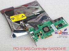 SAS + SATA LSI SAS3041E-FSC 4-PORT CONTROLLER PCI-E NEW