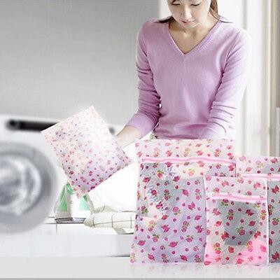 Lovely Clothes Bra Underwear Socks Dress Zipper Washing Laundry Pattern Bag SG1