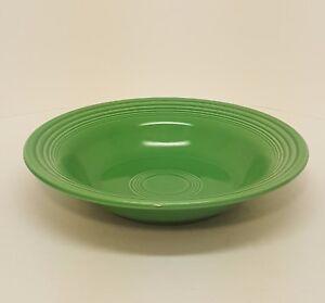 Fiestaware Lemongrass Rimmed Soup Bowl Fiesta Green Bowl