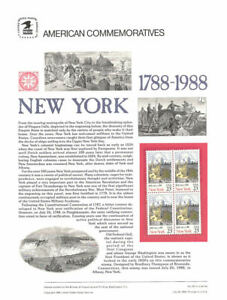 314-22c-New-York-Statehood-2346-USPS-Commemorative-Stamp-Panel