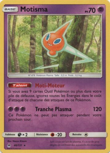 Pokemon VF Français Motisma Rare SL6-40//131