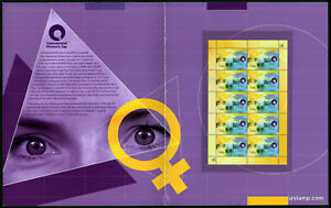 2011-Women-039-s-Day-Sheetlet-Post-Office-Pack-Australia-Mint-Stamps