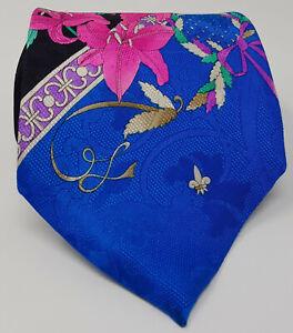 Cravatta-leonard-100-pura-seta-tie-silk-original-made-in-italy