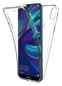 Hülle Kristall Silikon Gel Schutz Integral 360° Für Huawei Y7 (2019)