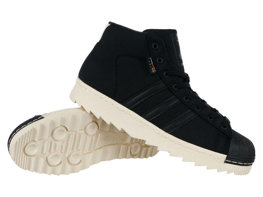 Shoes Adidas Originals Pro Model 80s Cordura Mens Black Hi Tops Winter Boots