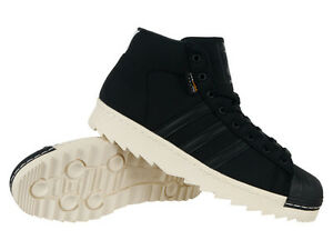 7dd65fc137a2 Shoes Adidas Originals Pro Model 80s Cordura Mens Black Hi Tops ...
