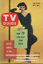1958 TV Guide Phyllis Kirk of 'The Thin Man'