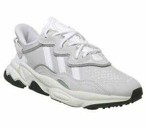 Adidas-ozweego-Baskets-Blanc-Cristal-Blanc-casse-Baskets-Chaussures
