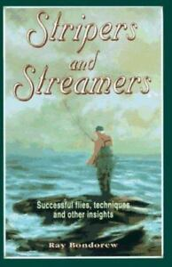 Stripers-and-Streamers-by-Ray-Bondorew-signed-w-a-Ray-039-s-Fly-tied-by-author