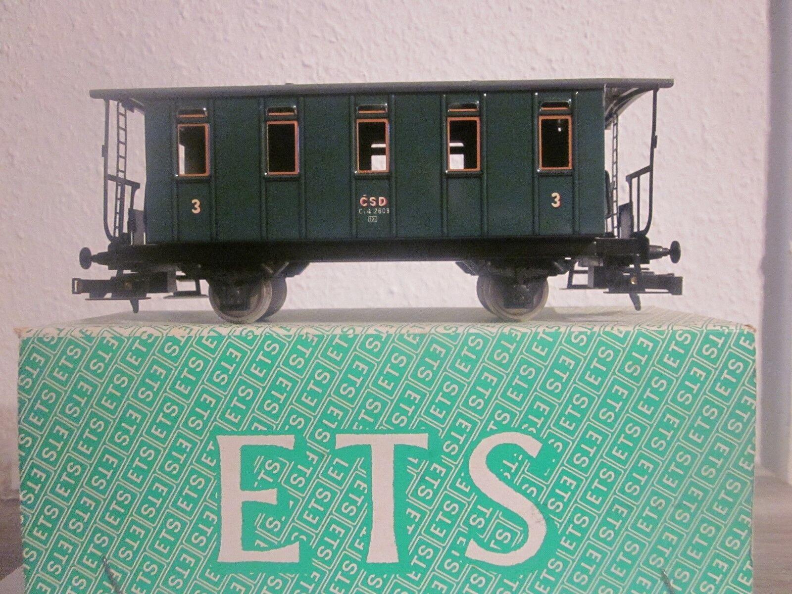 Traccia 0 ETS 301 peronenwagen della  CSD  MOLTO RARE OVP
