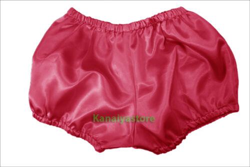 Deep Pink Satin Pants Pantaloons India Maid Sissy Cute Adult Baby Fits Underwear