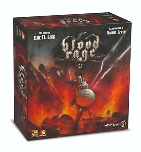 BLOOD RAGE Gioco da Tavolo Italiano Asterion combattimento guerra strategia 🤩🤩