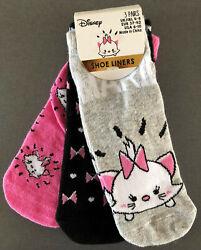 3 Paar Disney Aristocats Damen Socken Sneaker Strümpfe Katze Marie 37-42 Primark