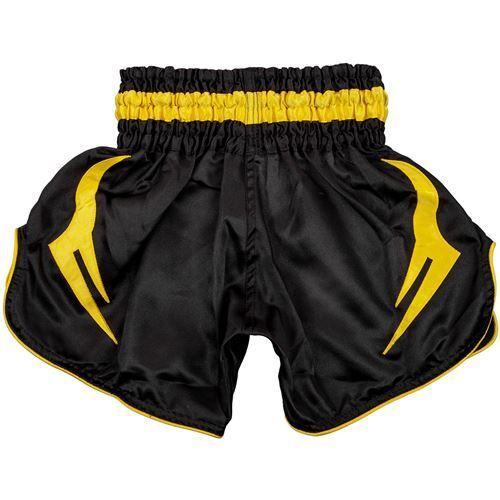 Kids Black//Yellow Venum Bangkok Inferno Muay Thai Shorts