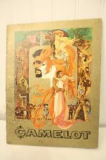 VTG 1967 CAMELOT Movie Souvenir Book - Richard Harris & Vanessa Redgrave