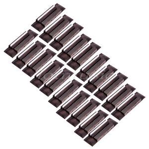 20-Pcs-Ukulele-Guitar-Bridge-and-Bone-Saddle-Slotted-for-Ukelele-Uke-Parts