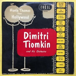 Dimitri-Tiomkin-amp-His-Orchestra-Film-Themes-From-Hollywood-LVA-9006-Near-Ex