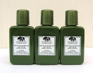 Details about Origins Dr Weil Mega Mushroom Relief & Resilience Treatment  Lotion 3 x 30ml Size