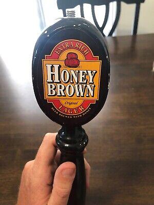 Honeybrown Lager Ale Bar Tap Handle