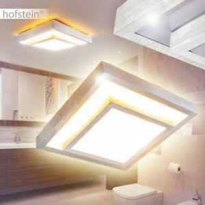 Détails sur Plafonnier LED Design Carré Lustre Lampe de salle de bains  Lampe de salon 163825