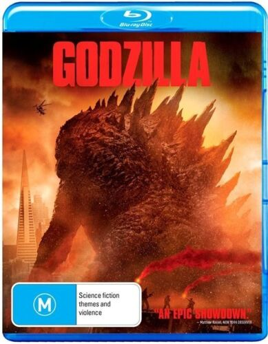 1 of 1 - Godzilla (Blu-ray, 2014) +Priority Post