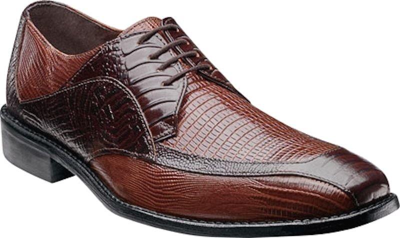 in vendita online Mens Mens Mens Stacy Adams Dress scarpe Genoa 24937 Marrone Multi Bicycle Toe Oxfords Leather  alta quaità