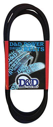 D/&D PowerDrive A161 V Belt  1//2 x 163in  Vbelt