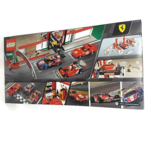 LEGO Ferrari Ultimate Garage Speed Champions 75889 New Unopened Free Shipping