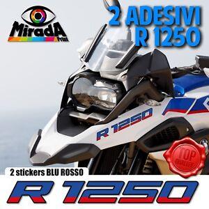 ADESIVI-STICKERS-AUTOCOLLANT-PER-BMW-GS-R-1250-BLU-ROSSO-ADVENTURE-MOTO-RALLY
