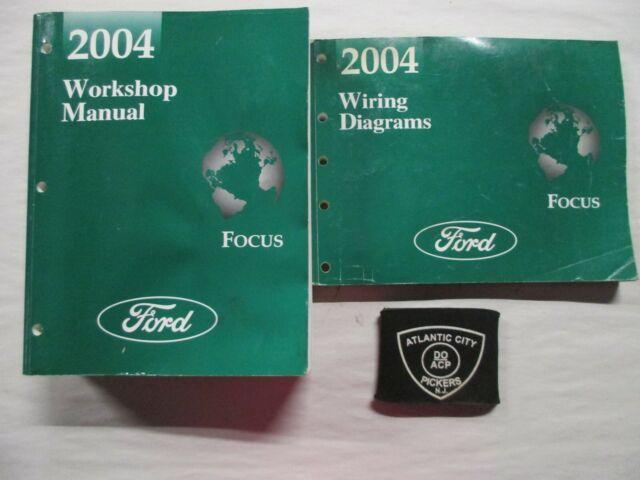 2004 Ford Focus Service Shop Repair Manual  U0026 Wiring