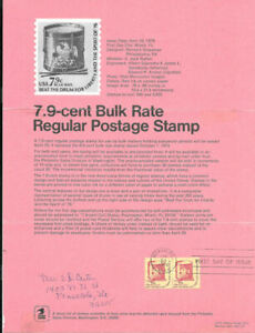 1615-7-9c-Bulk-Rate-Beat-the-Drum-Postage-Stamp-Poster-Unofficial-Souv-Pg-Fd