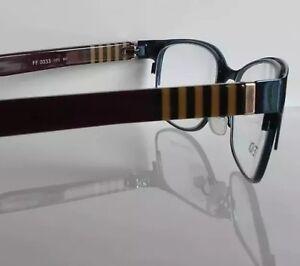 4b76a5f8f5 FENDI- FF 0033 Burgundy 53 17 140 Eyeglasses Rx Made in Italy - New ...