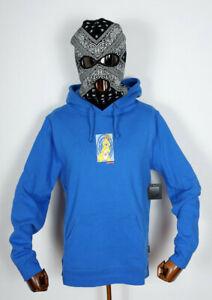 Huf-Worldwide-Sweatshirt-Hooded-Pullover-Hoodie-Messed-Up-Bunny-Dynamic-Cobalt-M