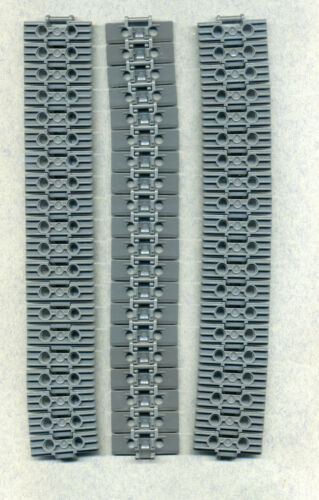Lego--57518 Breit 60 Stück 2 x 5 Kettenglieder Grau/DKStone