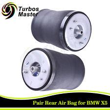 for BMW E53 X5 00-06 Rear Air Suspension Bag 37126750355 37126750356 - Pair