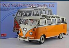 Limited Edition: 1/12 Sun Star VW SAMBA BUS 1962 DIE CAST MODEL