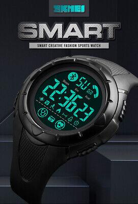 Mens Smart Watch Fitness Tracker Heart Rate Monitor Pedometer Waterproof Gift  | eBay