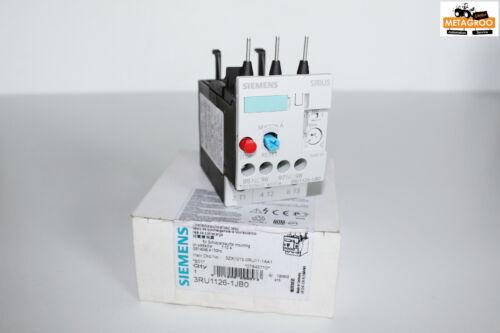 Siemens Sirius 3RU 3RU11 Überlastrelais 3RU1126-1JB0 Sicherheitsrelais *E01* Neu